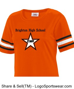 Orange Star Staff Jersey Design Zoom